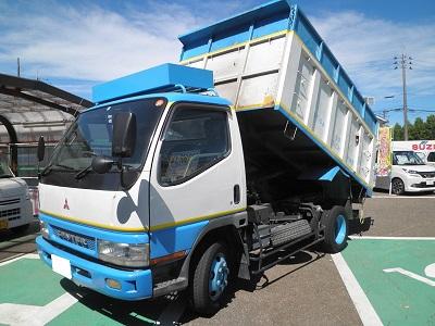 アカツカ トラック 三菱 キャンター 深ダンプ