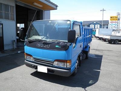 アカツカ トラック いすゞ エルフ 2トン 深ダンプ レンタカー