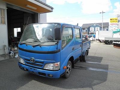 アカツカ トラック トヨタ ダイナ ダブルキャブ